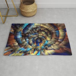 Into The Present Rug