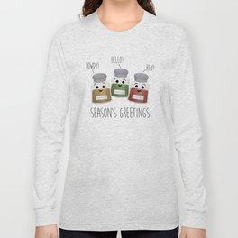Season's Greetings   Garlic, Oregano & Paprika Long Sleeve T-shirt