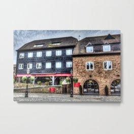 The Mala Restaurant London Metal Print