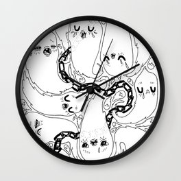 Spirits are Downers Wall Clock