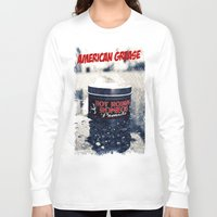 grease Long Sleeve T-shirts featuring American grease by Vorona Photography