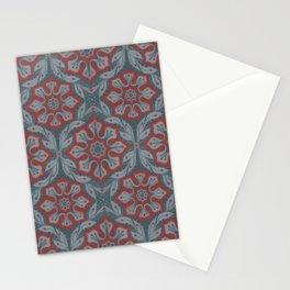 Flowers and laurels Stationery Cards