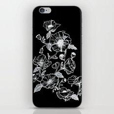 Black Poppies iPhone & iPod Skin