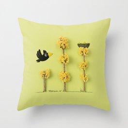 Homing Throw Pillow