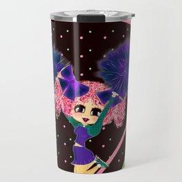 Kawaii cheerleader PinkyP cute Travel Mug