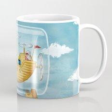 AIRSHIP IN A BOTTLE Mug
