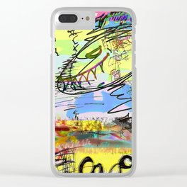 Deth-centric Clear iPhone Case