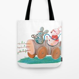 car 2 Tote Bag