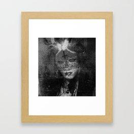 Unholy Queen Framed Art Print