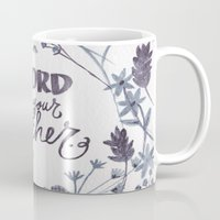 word Mugs featuring word by lindsey ann