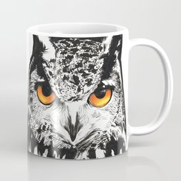 Fire-Eyed Owl Coffee Mug