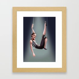 Circus Performer Framed Art Print