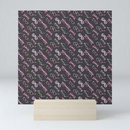 Pink Glasses Mini Art Print