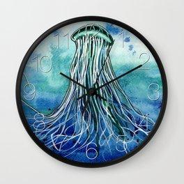 Emperor Jellyfish Wall Clock