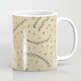Small Music Coffee Mug