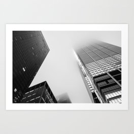 Lost in the Mists - 1 New York 2018 Art Print