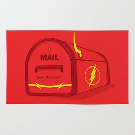 Faster than E-mail Rug