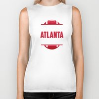 atlanta Biker Tanks featuring Its An Atlanta Thing by Jacob Tyler FX