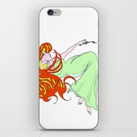 mucha iPhone & iPod Skins featuring Mucha Gracias by Asia Sanchez