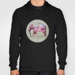 Cherry blossom Elephant Hoody