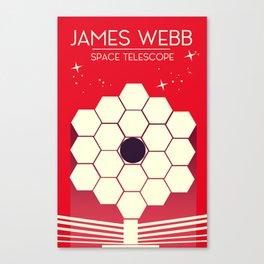james webb space telescope, Canvas Print
