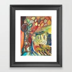 Sasquatch Framed Art Print