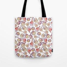 Gumnuts watercolour (white background) Tote Bag