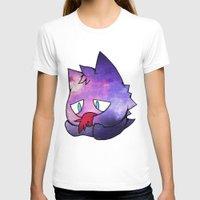 gengar T-shirts featuring Galaxy Gengar. OC. by xowhiterabbitox