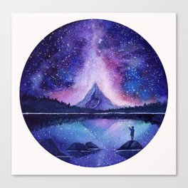Counting Stars Canvas Print