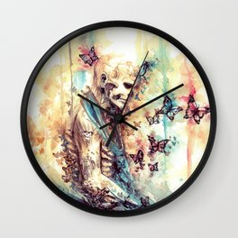 Rick Genest - Zombie Boy Wall Clock