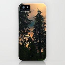 Autumn Twilight iPhone Case