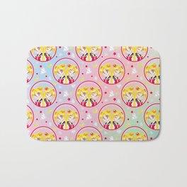 Usagi Tsukino VS Sailor Moon pattern Bath Mat
