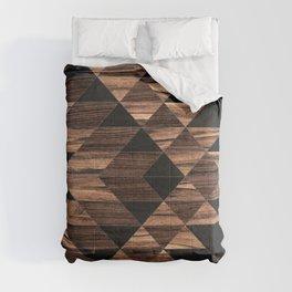 Urban Tribal Pattern No.11 - Aztec - Wood Comforters