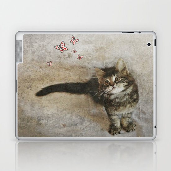 c a t  Laptop & iPad Skin