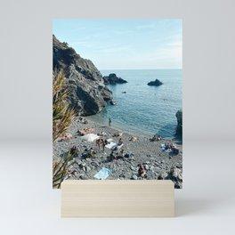 Levanto Beach, Cinque Terre, Italy Art Print   Italy Photography Mini Art Print
