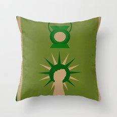 Minimalistic Lantern Throw Pillow