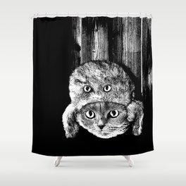 Lumberjack Flash Shower Curtain