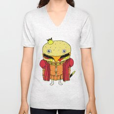royale with cheese Unisex V-Neck