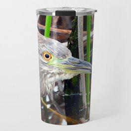 Juvenile Black Crowned Night Heron Travel Mug
