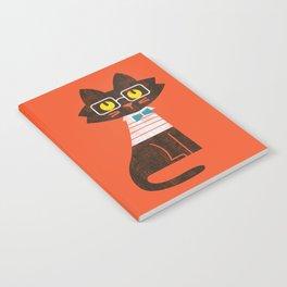 Fitz - Preppy cat Notebook