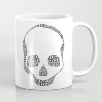 rebel Mugs featuring Rebel by Estaschia Cossadianos