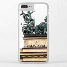 The Chariot. Clear iPhone Case
