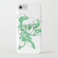 sailor jupiter iPhone & iPod Cases featuring Sailor Jupiter by TheLoreFactory