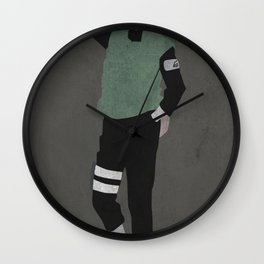 Shikamaru Wall Clock