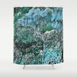 Chrysocolla Shower Curtain