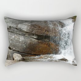 Rocky Mountain Cascade Rectangular Pillow