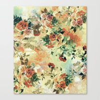 roses Canvas Prints featuring Roses by RIZA PEKER