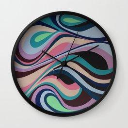 Pink Coma Wall Clock