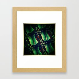 Knight Or Steel Framed Art Print