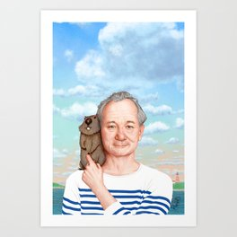 Bill Murray - Jason Raish Art Print